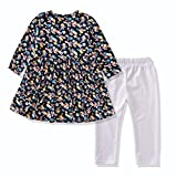 FERENYI Baby Girls Clothes Suit Cartoon Girl