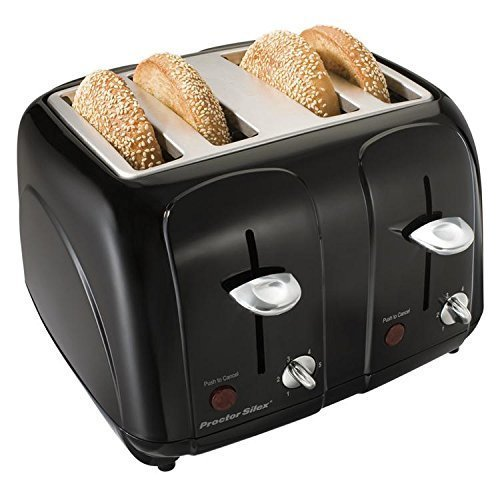 Proctor Silex Cool-Touch 4 Slice Toaster Size: 4-Slice Color