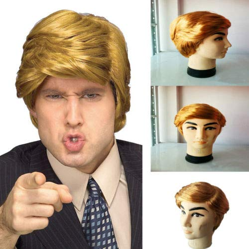 Mr Trump Wig Costume Halloween Dress Up One Size Adult 14+ Holiday Party Hair Accessories]()