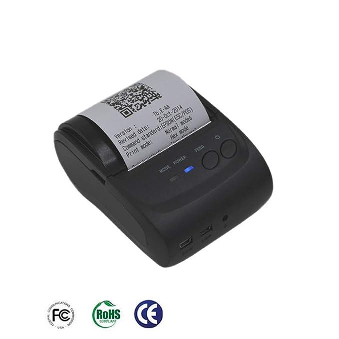 OMEE Impresora Térmica Portátil Impresora Bluetooth Sistema ...