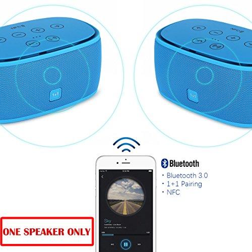 Ultra-Bass Bluetooth Speaker (Blue) - 7
