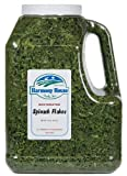 Harmony House Foods, Dried Spinach Flakes (18 Oz Gallon Jug Size) Review