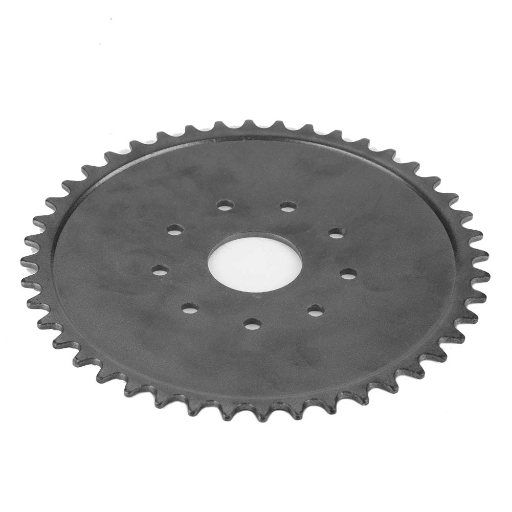 9 Hole 44 Tooth Chain Sprocket for 49cc 66cc 80cc Engine Motorized Bicycle Chain Gear Sprocket