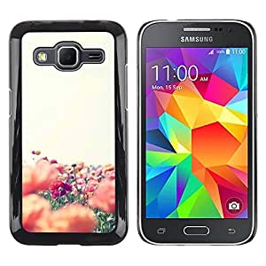 LECELL--Funda protectora / Cubierta / Piel For Samsung Galaxy Core Prime SM-G360 -- Flowers Field Nature Summer --