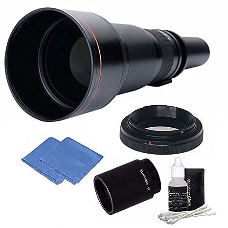 650 - 2600 mm Alta Definición teleobjetivo Zoom lente con trípode ...