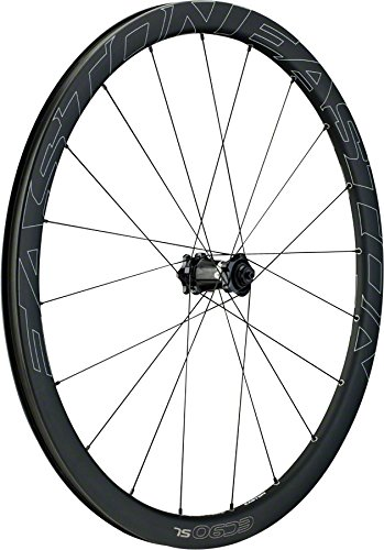 Easton Carbon Wheel - Easton EC90 SL Road Clincher 700c 9x100QR Disc Front Carbon Brake