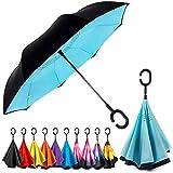 Best Brella Umbrellas - EEZ-Y Inverted Umbrella w/Windproof Double Layer Construction Review
