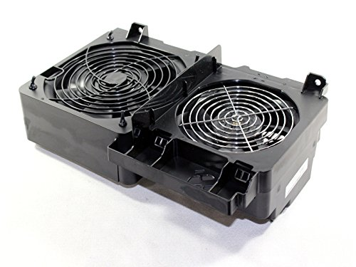 Genuine DELL Dual Front Fan Assembly For the Precision Workstation 690 and T7400 Systems Part Number: WN845, MM089, CD673, DG168, YC653, KC257, NJ870, AFC1212DE, AFC1512DG, B35502-35, DA15050B12H, TA450DC (Dell Precision 690 Power Supply)