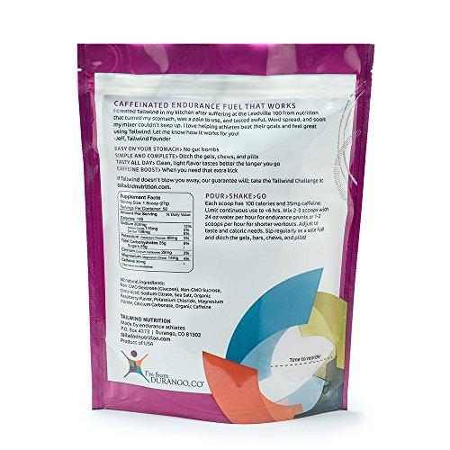 Tailwind Nutrition Caffeinated Endurance Fuel Raspberry Buzz 50 Serving