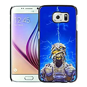Popular Design Samsung Galaxy S6 Case Iron Maiden Black Best New Design Samsung Galaxy S6 Cover Case