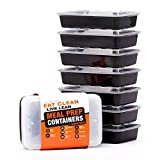 Evolutionize Healthy Meal Prep Containers - Certified BPA-free - Reusable, Washable, Microwavable Food Containers/Bento...