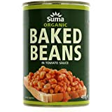 Suma Organic Baked Beans 400 g (Pack of 12)