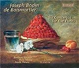 Boismortier: Six Concertos for Five Flutes /B Kuijken · M Hantaï · Theuns · Etienne · Saïtta by Joseph Bodin de Boismortier (2004-06-01)