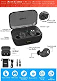 [Updated Version] Wireless Earbuds Bluetooth Headphones iPX7 Waterproof 72H Cycle Play Time, 2200mAh Bluetooth 5.0 Auto Pairing Wireless Earphones Bluetooth Headset with Charging Case (Black)
