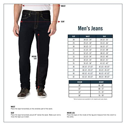 Signature by Levi Strauss & Co. Gold Label Men's Athletic Fit Jean 5