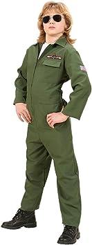 Disfraz piloto Pilot Top Gun disfraz de Carnaval Disfraz piloto de ...