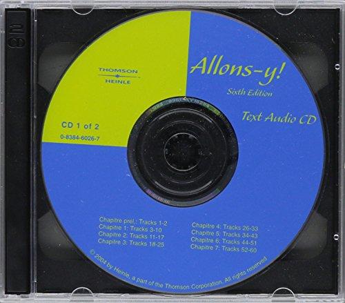 Audio CD's for Allons-y!: Le Français par etapes, 6th -  Bragger, Jeannette D., CD-ROM