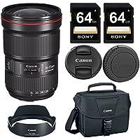 Canon EF 16-35mm f/2.8L III USM Lens + 128GB Professional Bundle
