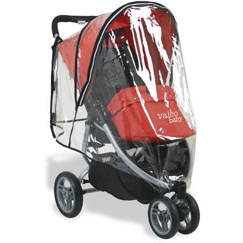 snap snap4 single stroller raincover
