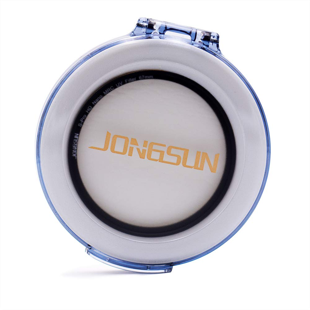 JONGSUN 95mm UV Filter Lens Cloth Kit S-Pro HD Nano MRC16 Camera Ultraviolet Protection Filter Ultra-Slim 16 Layers Multicoated SCHOTT B270