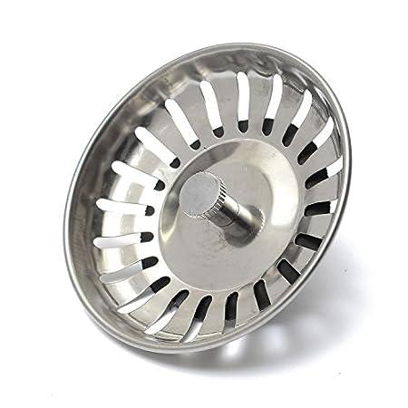 83mm Kitchen Sink Drainer Waste Strainer Leach Plugs Stopper Fits ...