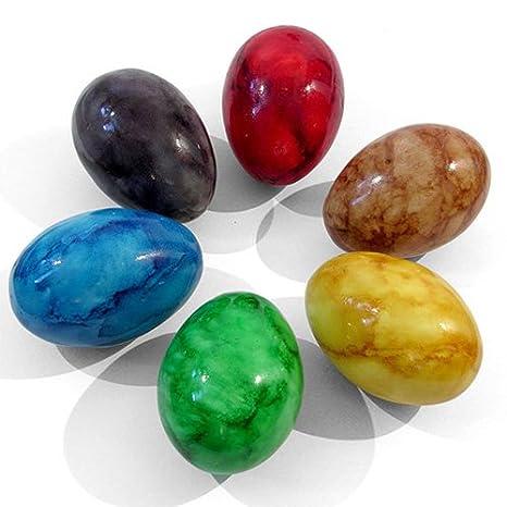 1 divertido hecho a mano corbata teñido colorido huevo shaker el ...