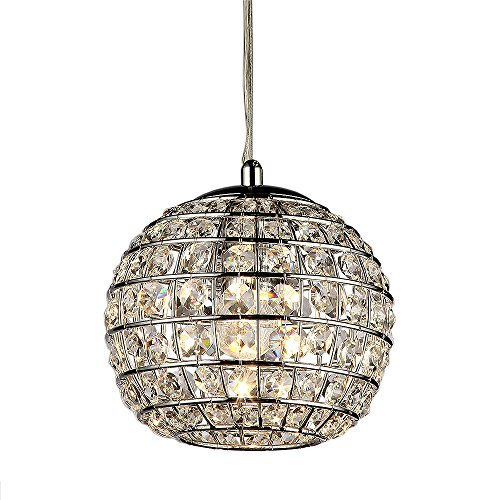 Whse of Tiffany RL8071 Wright Crystal Pendant Lamp