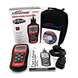 Car Scanner EOBD OBD2 OBDII KW808 Diagnostic Live Data Code Reader Check Engine Scan
