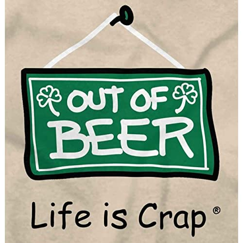 5a8d3e851de90 chic Classic Teaze Life Is Crap Out Of Beer Funny Shirt | Cute Gift Idea  Drinks