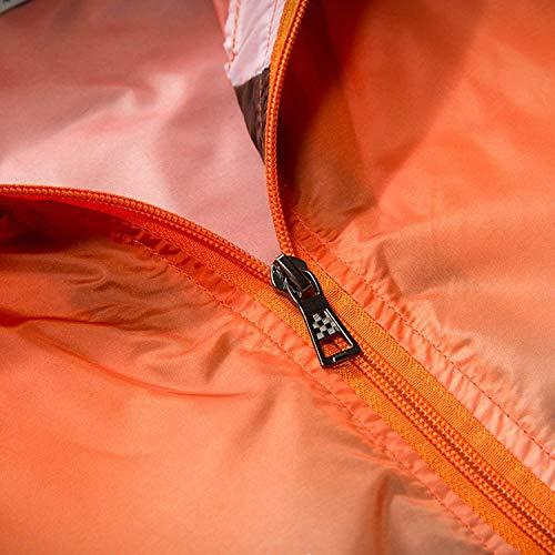 Veste Fille Léger vélo De Coupe Imperméable Rapide Extérieur Soleil Super Séchage Protection Orange Classique Été Pour Femmes Vent À 5T1qx1