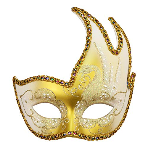 Masquerade Mask Venetian Party Mask Halloween Mask Costumes Mardi Gras Mask Party Accessory -