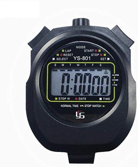 JYL Temporizador de cronómetro Deportivo Digital, cronógrafo de ...