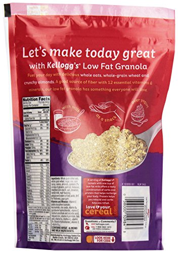Kellogg's Low-Fat Granola Cereal with Raisins, 10.6 oz