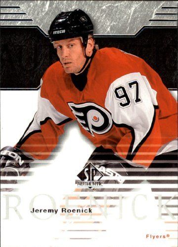 2003 Sp Authentic Card - 2003-04 SP Authentic #65 Jeremy Roenick NHL Hockey Trading Card