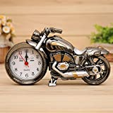 KAKA(TM) Cool Motorcycle Design Alarm Clock Creative Gifts Review and Comparison