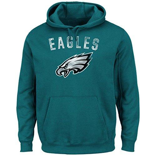 Philadelphia Eagles Kick Return Pullover Hooded Sweatshirt XX-Large