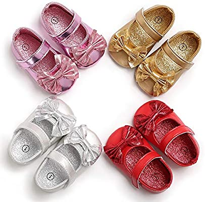 Toddler Newborn Baby Girl Crib Shoes Soft Leather Prewalkers Anti-slip Moccasins