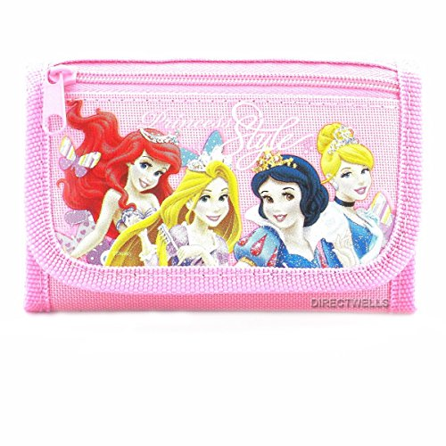 Price comparison product image Disney Princess Style Pink Trifold Wallet