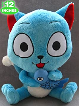 Fairy Tail Peluche Happy Anime Manga PVC