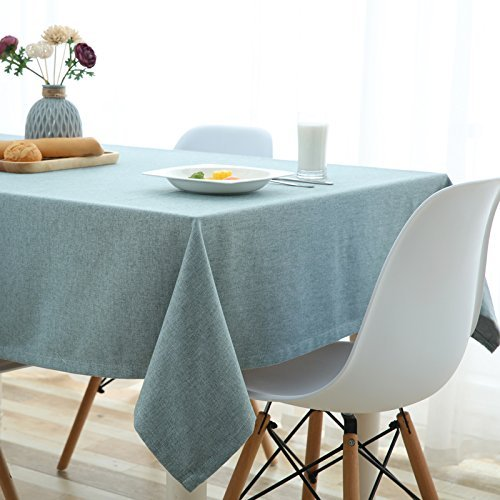 HOMEE European simple cloth cotton tablecloth dining table household living room waterproof dustproof cloth rectangle background Christmas decorations,A,120X170cm by HOMEE