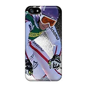 Fashionable Style Case Cover Skin For Iphone 5/5s- Austria Ski Racer 12