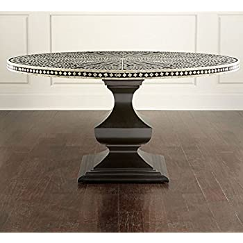 Amazon Com Bone Inlay Floral Big Dining Table Handmade