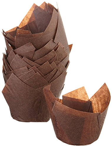 Green Direct Tulip Muffin Cupcake Liners Baking Cups to Enhance the Cupcakes Appearance Pack of 200