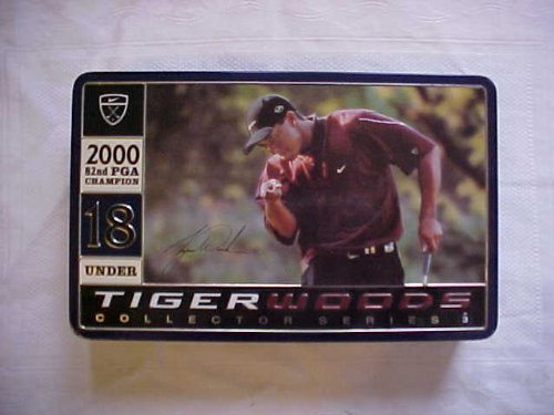 Tiger Woods 2000 82nd PGA Champion Collector Series Golf Ball Tin [Misc.]