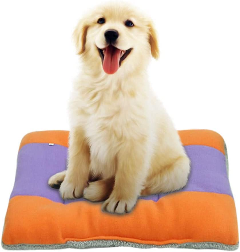 Washable for Small Medium Large Dogs /& Cats Chezaa Soft Pet Bed Dog Beds Mats Beds Warmer Rectangular Step-On for Dog Cat Orthopedic Joint-Relief