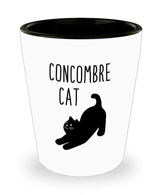 Vasos de chupito con diseño de gato de Concombre - Divertido ...