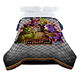 Scott Games Five Nights at Freddy's Pizza Security Twin/Full Comforter