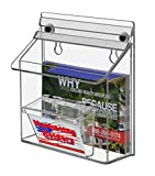 6'' x 4'' Outdoor Magnetic Postcard Holder with Card Holder
