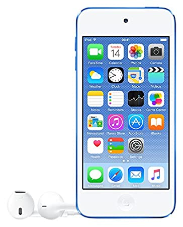 Apple iPod Touch 6th Generation,2015 Edition,MKWP2VC/A 128 GB MP3/MP4 Players at amazon