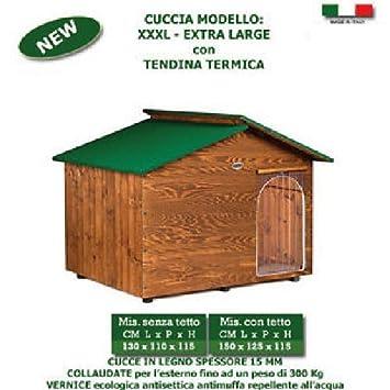 Caseta para perro cucce de madera varias tallas